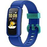 BIGGERFIVE Vigor Fitness Tracker Watch for Kids Girls Boys Ages 5-15, Activity Tracker, Pedometer, Heart Rate Sleep Monitor,