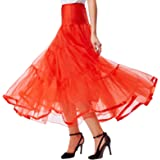 GRACE KARIN Women's 50s Petticoats Skirts Wedding Half Slips Long Underskirt