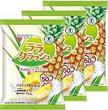 マンナンライフ 蒟蒻畑ララクラッシュパイナップル味 24g×8個×3袋