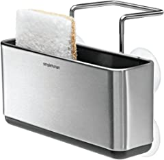 simplehuman Slim Sink Caddy, Brushed Stainless Steel
