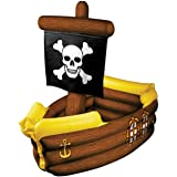 Beistle 50989 Inflatable Pirate Ship Cooler, 3-Feet 3-inches Width by 33-inches Height