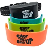 AntiFury Bark Collar for Small to Medium Dogs - Non Shock Rechargeable Collar for Dogs, Water Resistant Bark Control Device,