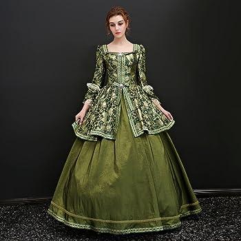29c43dab402db 貴族 ドレス お姫様 カラードレス ロングドレス ステージ衣装 舞台衣装 王族服 豪華なドレス