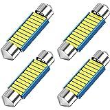 12V festoon 578 LED Bulb, 42mm 41mm 1.65 Inch Festoon DE3425 DE3423 211-2 LED, 33SMD White Light 42mm festoon Led bulbs for C
