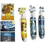 150ピース ジグソーパズル 星月夜 ローヌ川の星月夜 向日葵 パズル ゴッホ 名画 mini puzzle 3セット…