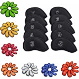 Sword &Shield sports 10Pcs/Pack New Meshy Golf Iron Covers Set Golf Club Head Cover Fit Most Irons.