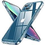 【透明シールド】 Humixx iPhone13 用 ケース クリア 黄ばみなし 耐衝撃 米軍MIL規格 SGS認証 カバー 滑り止め 指紋防止 レンズ保護 ワイヤレス充電対応 シンプル アイフォン13 用 ケース フィット感 iphone13 用