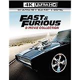 Fast & Furious 8-Movie Collection [4K Ultra HD + Digital] [Blu-ray]