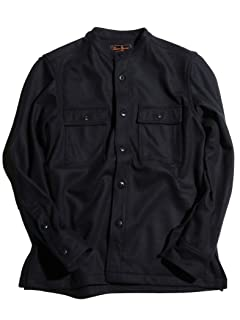 Genuin Garment CPO Jacket 3225-186-2235: Navy