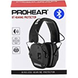 PROHEAR 030 Electronic Shooting Ear Protection Muffs with Bluetooth, Sound Amplification Noise Reduction Hearing Protector, P