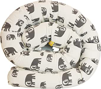 Simplygood(シンプリ―グッド) 長さ2mロングクッション 抱き枕 授乳 おあそび ベッドバンパー カドリースネイリー エレファント 0か月~ 751073