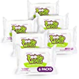 Boogie Wipes, Unscented Wet Nose Wipes for Kids and Baby, Allergy Relief, Soft Natural Saline Hand and Face Tissue with Aloe,