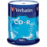 CD-R Discs, 700MB/80min, 52x, Spindle, Silver, 100/Pack [並行輸入品]