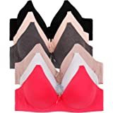 2ND DATE Women's No Wire Bras (Packs of 6) - Various Styles