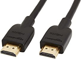 Amazonベーシック ハイスピード HDMIケーブル - 1.8m (タイプAオス - タイプAオス)