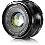 Neewer 35mm F1.7 大口径手動プライム固定レンズ APS-C E-マウントデジタルミラーレスカメラA7III A9 NEX3 3N 5 NEX5T NEX5R NEX 6 7 A6400 A5000 A5100 A6000 A6100