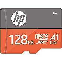 【Amazon.co.jp 限定】HP microSDXCカード 128GB オレンジ A1 UHS-I(U3) 4K Ultra HD対応 最大読出速度100MB/s 1年間保証 HFUD128-1V31A