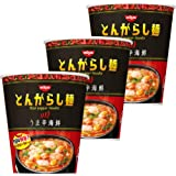 日清のとんがらし麺 うま辛海鮮 64g×3個