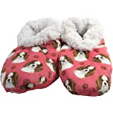 Cavalier King Charles Super Soft Women's Slippers - One Size Fits Most - Cozy House Slippers - Non Skid Bottom - perfect for
