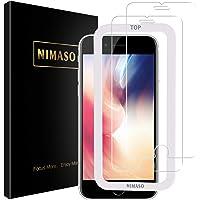 Nimaso iPhone SE 第2世代 ガラスフィルム iPhone8 / 7 / 6 / 6s 液晶保護 フィルム…