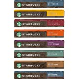 Nespressoネスプレッソ by Starbucks スターバックス 8種 80カプセル [並行輸入品 ]