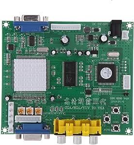 Andoer GBS8200 5V Active Low 1 Channel Relay Module Board CGA / EGA / YUV / RGB → VGA Arcade ゲーム ビデオコンバーター 変換アダプタ CRT モニター/ LCD モニター/PDP モニター対応【並行輸入品】