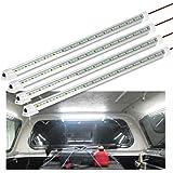 WELLUCK 12V Interior LED Light Bar, 700LM 3W DC 12V LED Light Strip with Switch for Car, Trailer, Truck Bed, Van, RV, Cargo,
