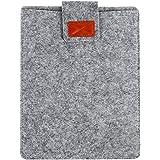 タブレットバッグタブレットスリーブケースファッション8インチのフェルトのタブレットは、Ipadグレーのために耐性があります