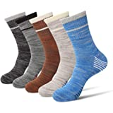 DERKUE Athletic Socks Comfort Breathable Sports socks 4 pairs Ankle Socks for women & men