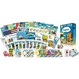 子供の英語学習・英会話学習プレミアムセット/DVD、本、絵本、フラッシュカード、歌のCD、アルファベット練習帳など教材の…