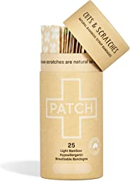 Patch Bamboo Organic Strips Natural Nude x 25 pack