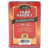 カードセーバー1–Semi Rigidカードホルダーfor PSA/BGS Gradedカードsubmittions–50ctパック