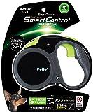 ペティオ (Petio) リールリード スマートコントロール スタイルトレーナー ディープブラック 小型犬用 S サイズ