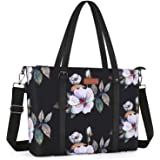 MOSISO USB Port Laptop Tote Bag (Up to 17.3 inch) with Adjustable Top Handle,Laptop Bag for Women,Water Repellent Polyester P