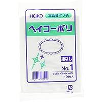 HEIKO ポリ規格袋 ヘイコーポリ 03 No.1 紐なし 006610101