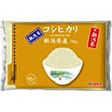 【精米】[Amazon限定ブランド] 580.com 新潟県産 無洗米 コシヒカリ 5kg