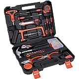 ホームツールセット 工具セット 家庭用 AWANFI 工具箱 道具セット ツールキット 家庭修理 DIY用 住まいのメンテナンス用 82セット