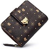 FOXER Women Leather Wallet Small Bifold Wallet Mini Wallet Card Holder