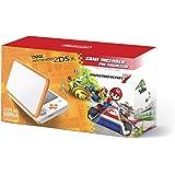 New Nintendo 2DS XL Handheld Game Console - Orange + White With Mario Kart 7 Pre-installed - Nintendo 2DS [International vers