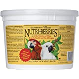 LAFEBER'S Classic Nutri-Berries Pet Bird Food, Made with Non-GMO and Human-Grade Ingredients, for Macaws and Cockatoos, 3.5 l