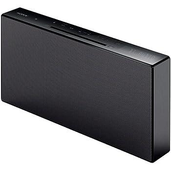 ソニー SONY マルチコネクトコンポ CMT-X3CD : Bluetooth/FM/AM/ワイドFM対応 ブラック CMT-X3CD B