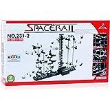 スペースレール(SPACE RAIL) NO.231 無限ループ スペースレール パズル 知育 脳トレ ジェットコースターのような未来的知育玩具 インテリアとしても存在感大 (レベル2)