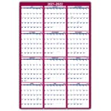 """2021 Yearly Wall Calendar - 2021 Yearly Full Wall Calendar with Thick Paper, January - December 2021, 34.3\"""" x 22.8\"""", XLarge"""