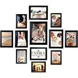Homemaxs 12 Pack Picture Frames Collage Photo Frames Wall Gallery Kit for Wall and Home, One 8x10 in, Four 5x7 in, Five 4x6 i