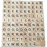 WINOMO 木製英語のアルファベット 脳トレ 学習ゲーム 知育玩具 木片 立体パズル おもちゃ 積み木 子供 幼児 小学生 学研 知恵 ゲーム 脳トレーニング 木製パズル
