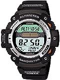 [カシオ] 腕時計 スポーツギア ツインセンサー SGW-300H-1AJF ブラック
