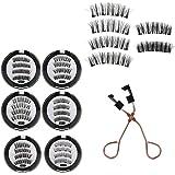 Magnetic Eyelashes with Tweezer Kit,8D Quantum Magnetic Eyelashes with Soft Magnet Technology Dual Natural Lash, 0.2mm Ultra