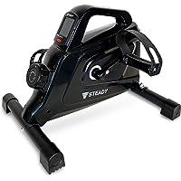 STEADY 最新UXモデル ミニフィットネスバイク 電源不要 負荷16段階 [1年保証] ステディ ST121 フィッ…