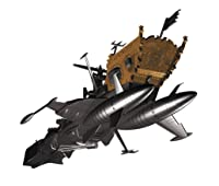 ハセガワ クリエイターワークスシリーズ 宇宙海賊戦艦 アルカディア 三番艦 改 強攻型 1/2500