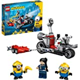 LEGO Minions 75549 Unstoppable Bike Chase Building Kit (136 Pieces)